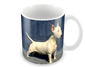 English Bull Terrier Ceramic Coffee Mug    Free Personalisation