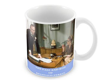 The Fall And Rise Of Reginald Perrin Ceramic Coffee Mug    Free Personalisation