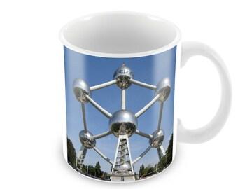 Atomium Ceramic Coffee Mug    Free Personalisation