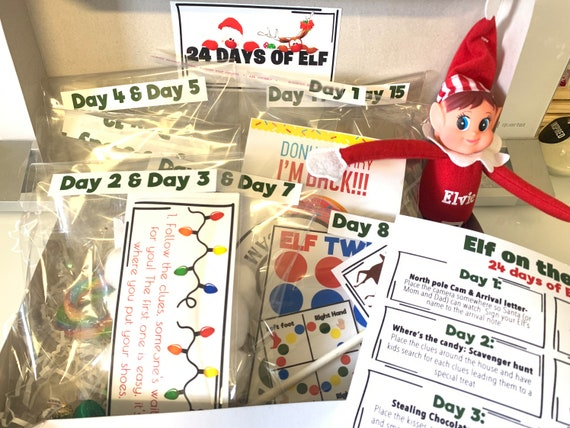 Personalized Elf Kit 2021 Pre-Order elf props elf ideas