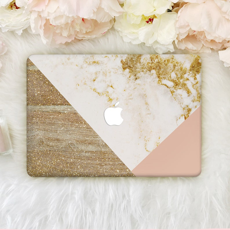 brand new 82a5e d5ae8 Gold Marble Macbook Pro Case Macboook Pro 13 Keyboard Cover Macbook Pro  Retina Macbook Air 13 Case Macbook Air 11 Hard Case Mac Cover YZ5089