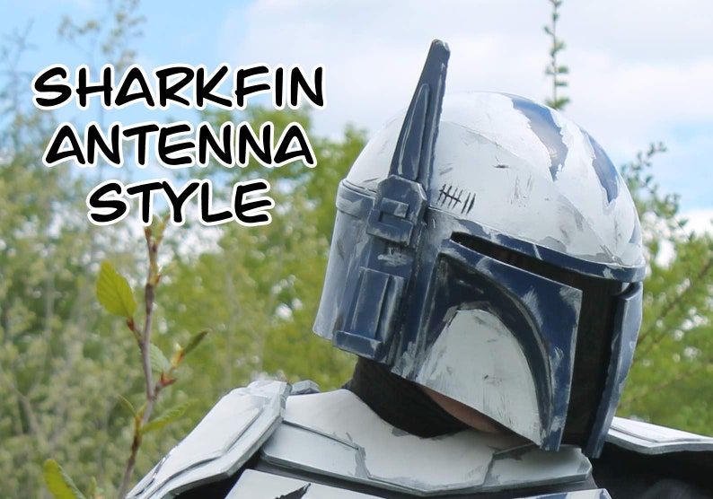 Ready to Paint EVA Foam Mandalorian Helmet