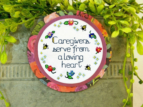 Caregiver Gift Magnet Caregiver Thank You Thoughtful Gifts Etsy