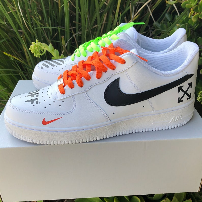 a823974d20973 Air Force 1 Off White Inspired Customs