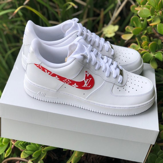 637c769c621d Air Force 1 low Supreme Louis Vuitton Customs