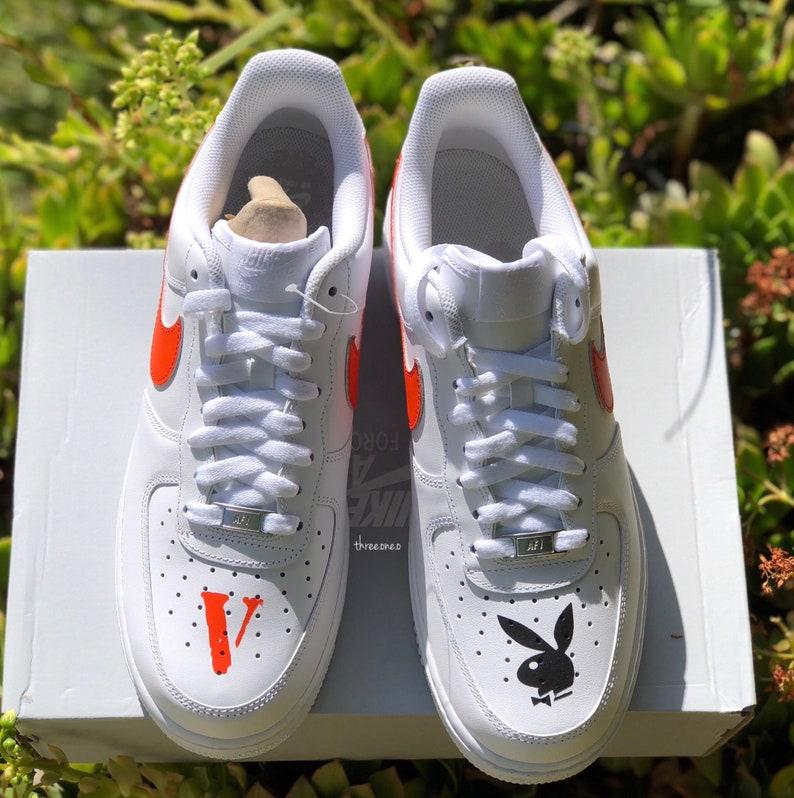b43b177d79b16a Air Force 1 x Vlone Playboy Customs