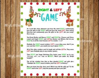 graphic relating to Free Printable Left Right Christmas Game named Xmas Bingo Activity 30 Playing cards Printable Xmas Bingo Etsy