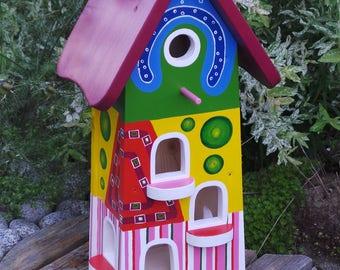 Bird house - absolute handmade