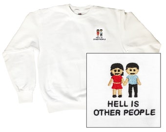 e89ba3116 Hell is other people - sweater