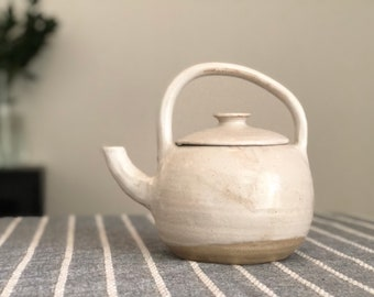 SECONDS Wabi Sabi Decorative Teapot, Handmade Pottery, Ceramic Teapot, Non functional