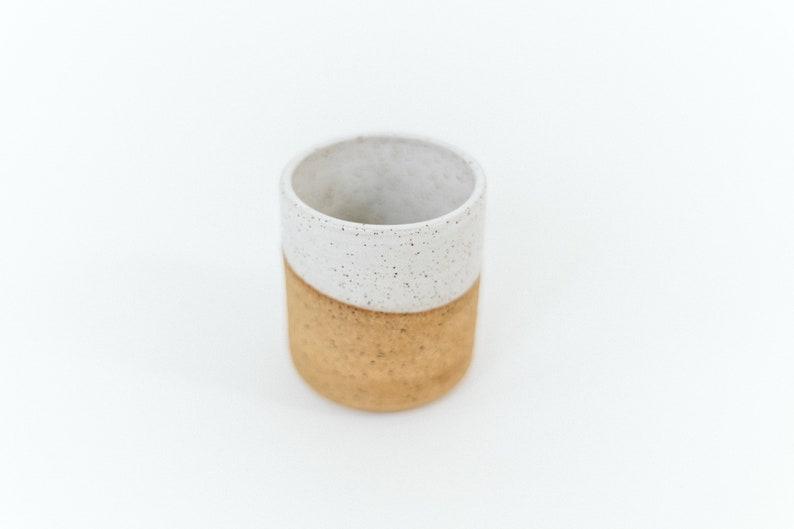 Tumbler / Pottery / Handmade / Stoneware Mug Without Handle / image 0