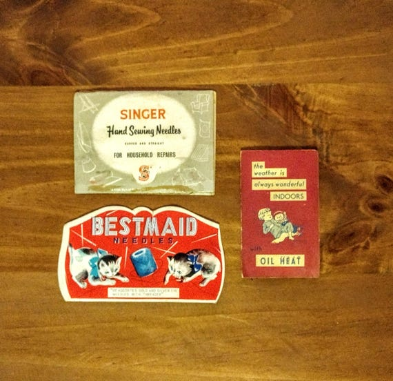 Vintage 1950s collectible sewing lot of bestmaid sewing singer home vintage 1950s collectible sewing lot of bestmaid sewing singer home repair needles rhein hadel business card sewing kit needles from nemostreasuretrunk on reheart Image collections