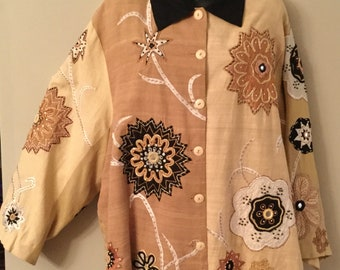 WOW! Factor ANAGE Size 4X Rayon Jacket