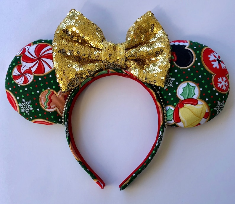 Christmas Cookie Ears Christmas Mouse Ears Christmas Cookies Tis The Season Mouse Ears