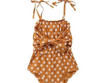 8fe137339 Girl summer onesie