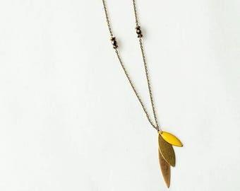 Long necklace Marguerite