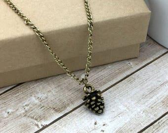 Pine Cone Pendant