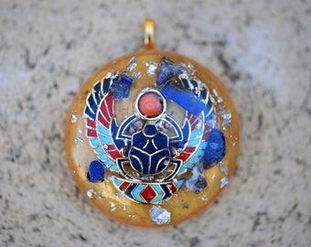 Scarab pendant, Scarab jewelry, ancient egypt jewelry, Egyptian jewelry, Scarab Necklace, Egyptian Scarab, men's necklace, Lapis Lazuli