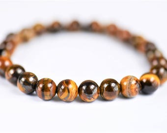 Tiger's Eye Bracelet ~ Protection