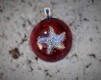 Resin Jewelry: Starfish Pendant
