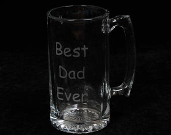 Perfect Father's Day Gift! A Giant Laser Engraved, Customized Mug 24oz
