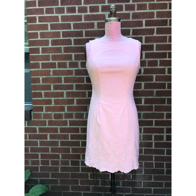 1990s Bubblegum Pink Dress