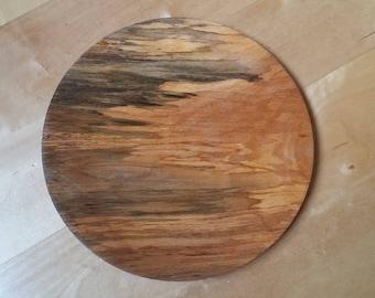 Spalted Ash platter