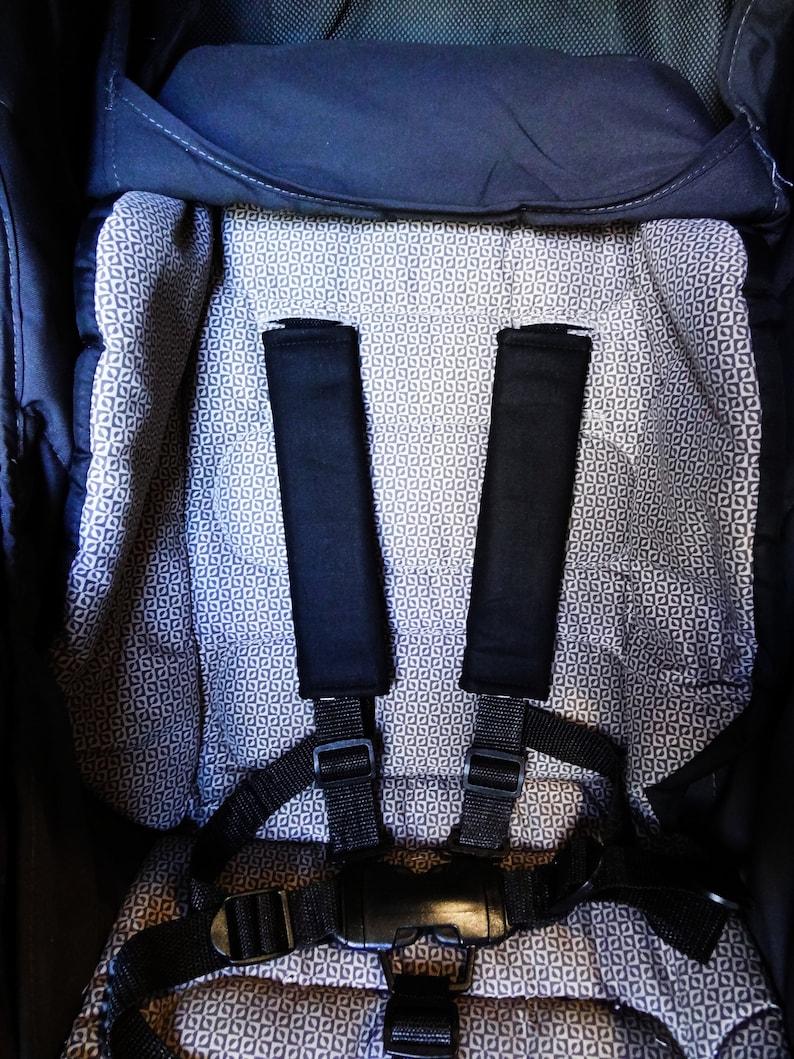 Baby Kids Seat Belt Strap Covers Pram Stroller Car Seat Baby Capsule Star Wars Arrows Cats Stars Cross Leaves Moustache Skulls Spiders