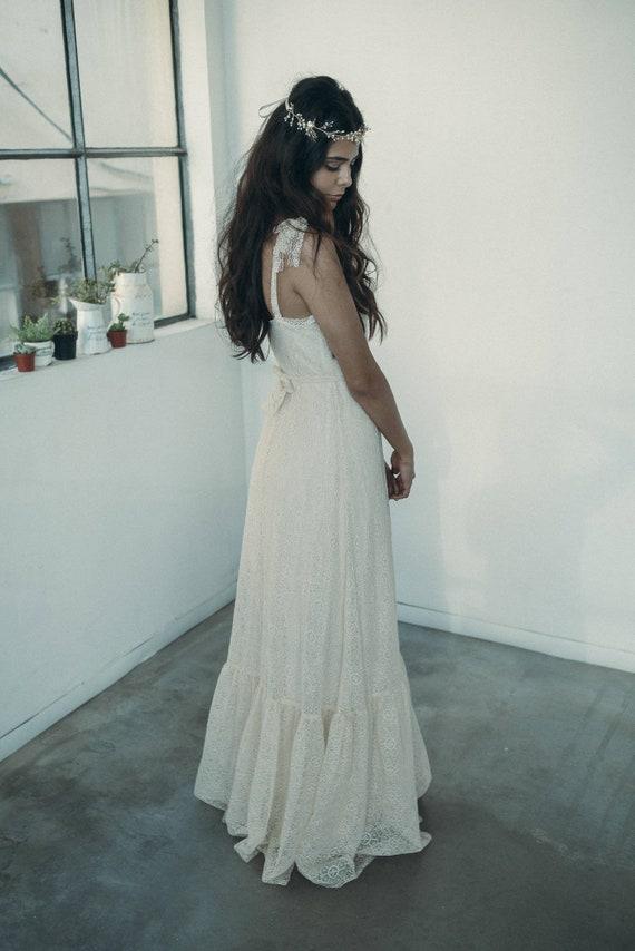 Sale wedding dresses vintage lace boho hippie hippie wedding | Etsy