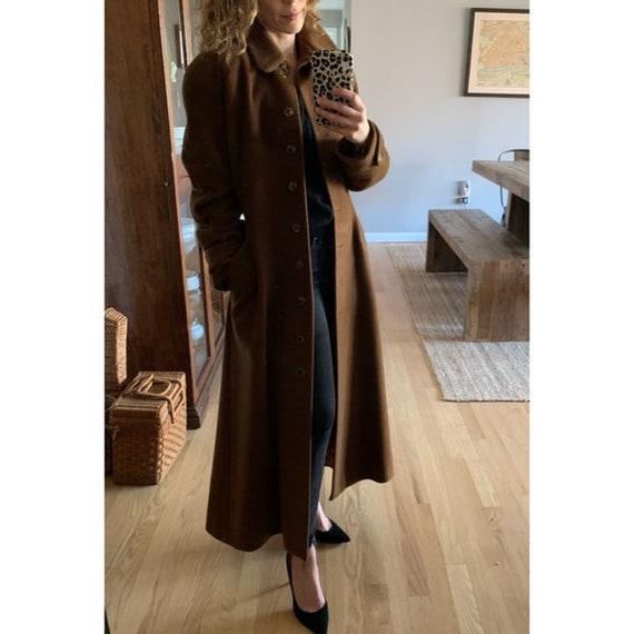 Vintage Lolita Lempicka wool maxi swing coat 1575 - image 1