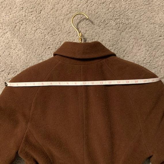 Vintage Lolita Lempicka wool maxi swing coat 1575 - image 5