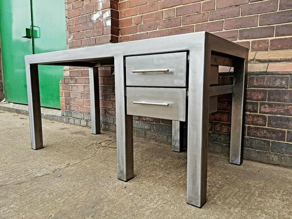 Industrial Style Desk Metal Office, Industrial Office Furniture