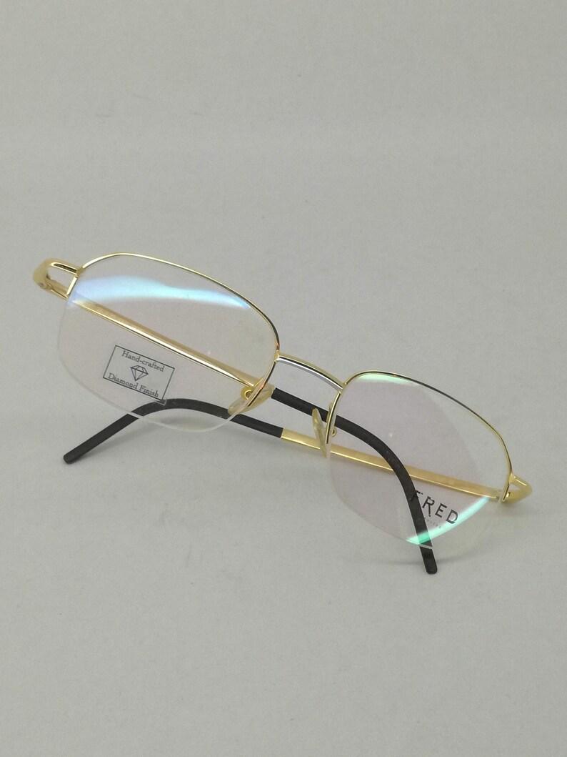 c3e96a9d015dc Fred Lunettes Paris France Cut 004 Eyewear Old Stock Unique