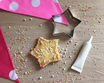 You're a Star Shortbread Baking & Decorating Kit | Decorate Your Own Shortbread | Baking Kit | Baking Gift | Baking with children | UK