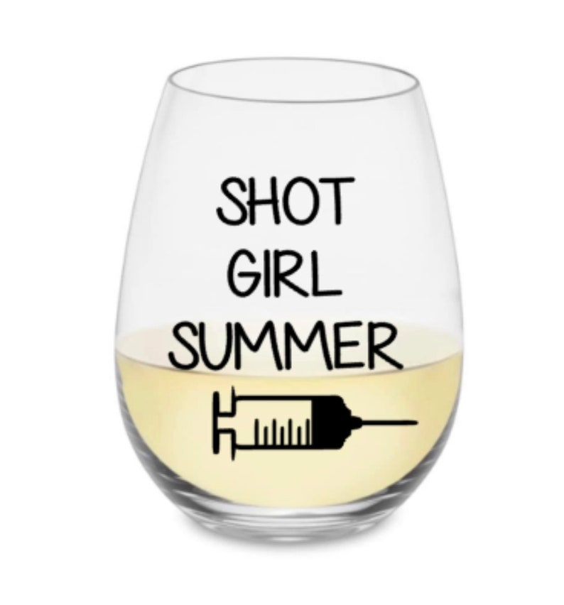 Science wine glass Vaccine wine glass Vaccinated wine glass