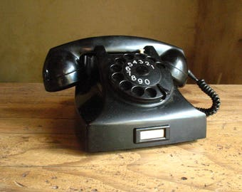Dutch Telephone, Bakelite, 1969