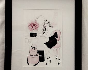 Designer Inspired Framed Custom Print