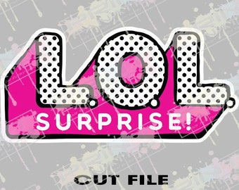 LOL Doll Surprise LOGO, L.O.L Doll Surprise, LOL Doll Surprise svg, lol Doll Surprise shirt, lol Doll png, dxf, Instant download , lol doll