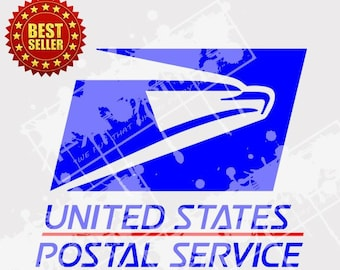 USPS United States Postal Service Logo SVG- Post Office SVG, cuttable Cricut, Silhouette Cameo, Cut Files