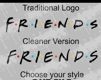 Friends logo | Etsy