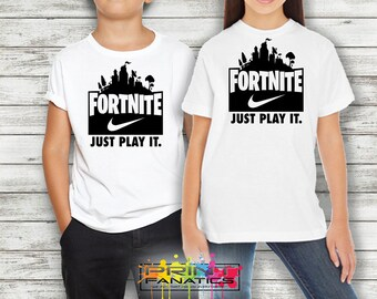 Fortnite svg file,  Fortnite svg, dxf, png, Printable, Fornite Nike SVG cut file, Fortnite Vector, Cameo, Silhouette, Fortnite Just Play It