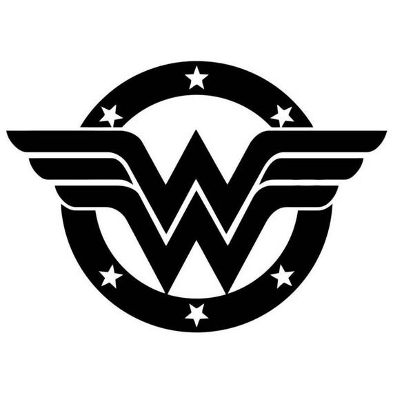 Wonder Woman Logo Etsy