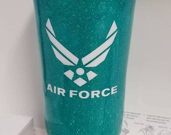 20 oz Air Force Stainless Steel Travel Tumbler