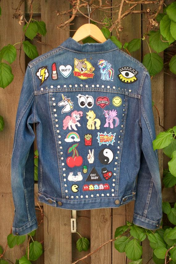 with Vintage jacket patches Vintage LEVIS LEVIS 6x0nqRHHp