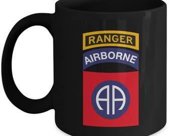 ARMY CORPS OF ENGINEERS 11oz Ceramic White Coffee mug