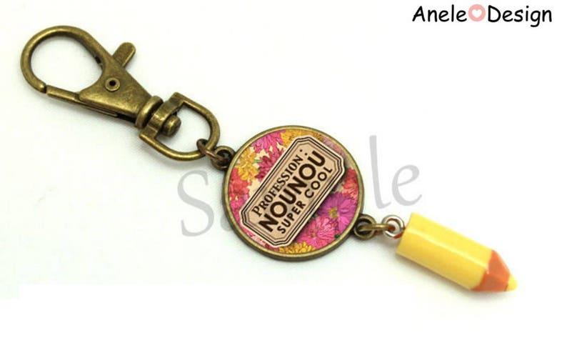 Gift for nanny Super Cool Flower Pink Purple yellow bracelet romantic