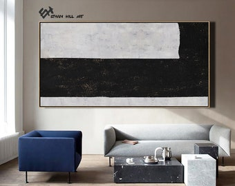 wall art decor for living room.htm horizontal modern art hand painted painting on canvas etsy  art hand painted painting on canvas