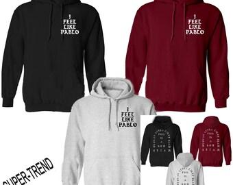 KANYE WEST INSPIRED i feel like pablo unisex hoodie 80% cotton 57741571744