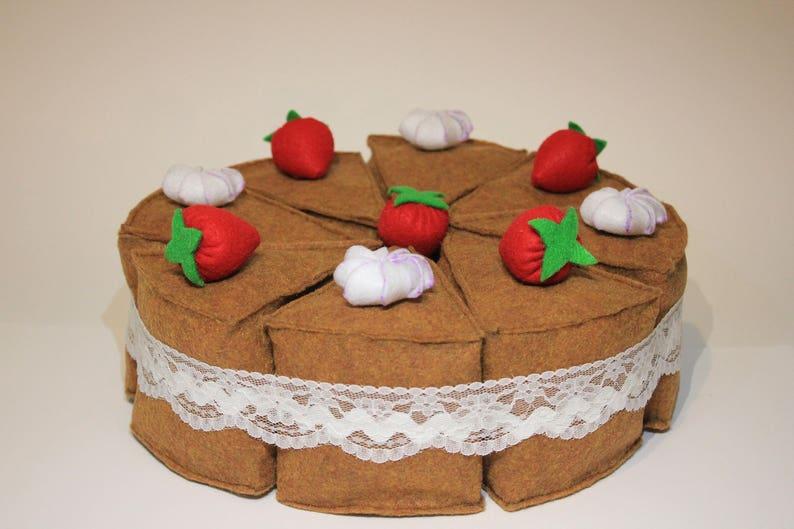Birthday Cake Happy Party Play Food Game Pie Handmade