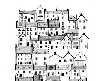 North East Scotland Drawing